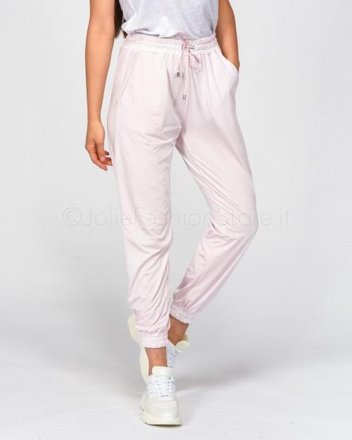 Pinko Pantalone Jogging Rosa