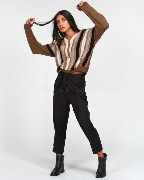 Dixie Black Drawstring Trousers
