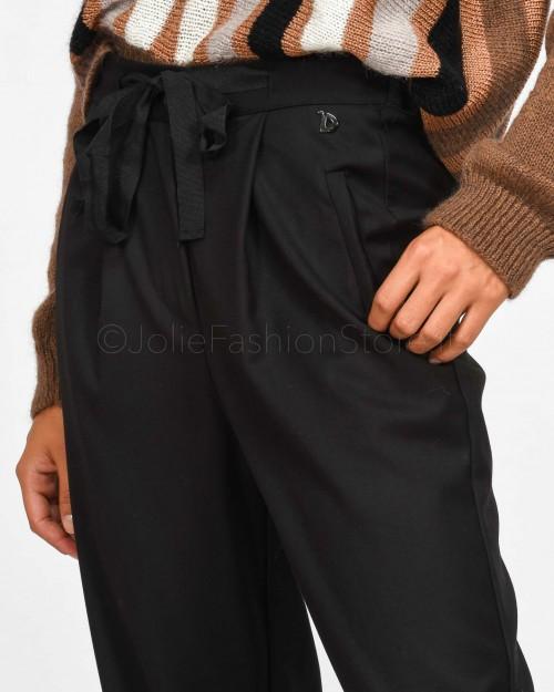 Dixie Pantalone con Coulisse Nero  PCAOGNQ-1900