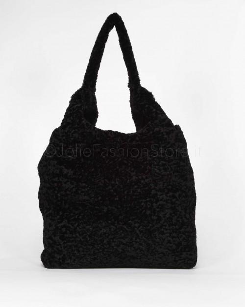 Miia Borsa Shopper in Eco Pelliccia  B001M-09090